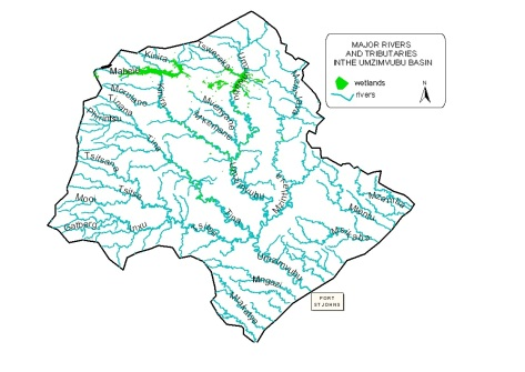 Umzimvubu rivers