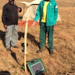 Motseng kraaling system learning exchange with Sehlabathebe grazing association