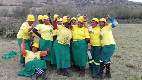 Mzongwana WfW team ladies